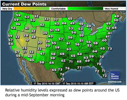 Us Dew Point Map DP3: Digital Print Preservation Portal | Fall — Back to Mold Time